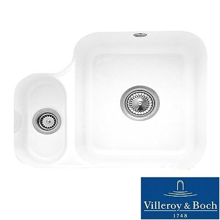 Villeroy & Boch Cisterna 60b 1.5 Bowl White Ceramic Undermount ...