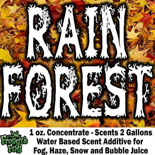 1 oz. RAIN FOREST - Water Based Scent Additive for Fog, Haze, Snow & Bubble Juice - Scents 2 -