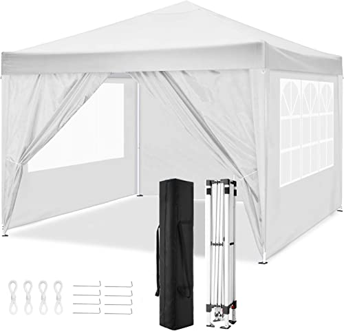 TOOLUCKCANOPY 10x10ft Pop up Canopy Tent Commercial Instant Shelter Heavy Duty Canopy