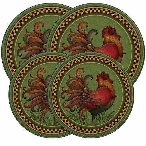 Range Kleen 5060 Angela Anderson's Rooster Design Burner Kov