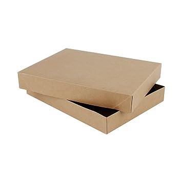 RUSPEPA 29.5 X 22 X 4.2Cm Caja De Regalo De Cartón De La Ropa Interior