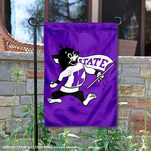 Kansas State Vintage Logo Garden Flag and Yard Banner