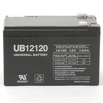Razor Dirt Bike Mx500 Replacement Battery Ub12120 12v