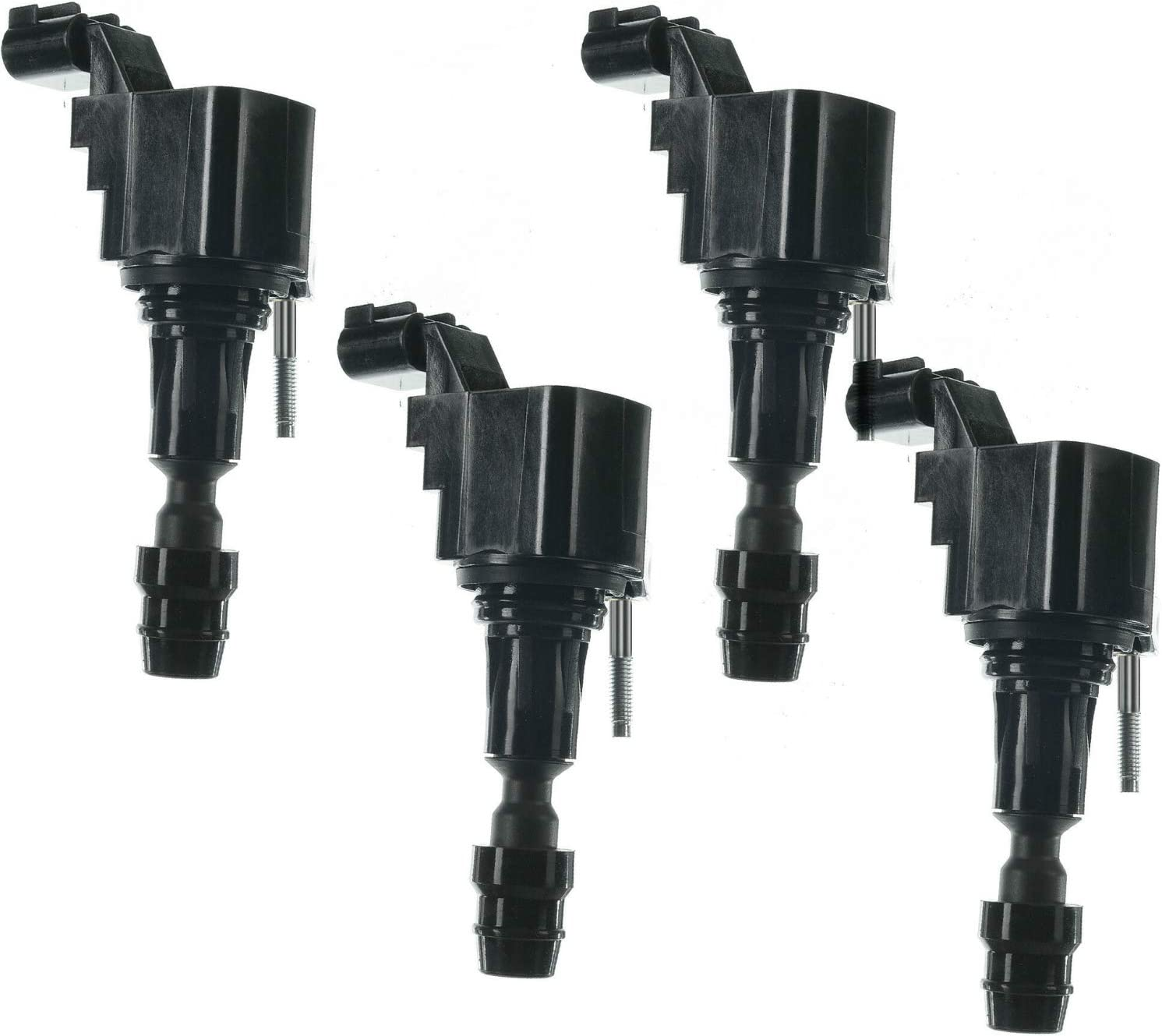 HHR 12638824 GMC Terrain OE# D522C Equinox Chevy Malibu 12578224 2006-2017 UF491 2.2L Pontiac G6 /& More Cobalt Ignition Coil Pack of 4 Replacement for 2.4L 2.0L Turbo