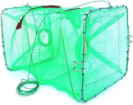 Köderfischreuse Fischreuse Reuse Köderfische fangen 6 Öffnungen Zite Fishing