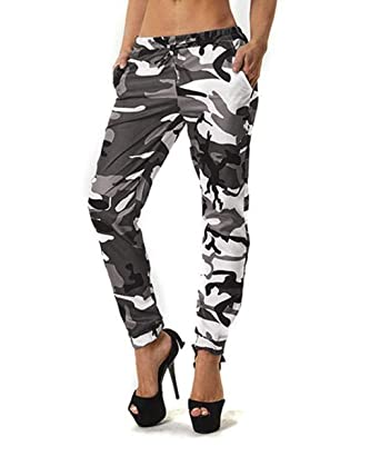 e289fc5144e51 Minni Rossa Womens Ladies Camouflage Jogging Bottoms Army Jeggings Tracksuit  Trousers Leggings Pants: Amazon.co.uk: Clothing