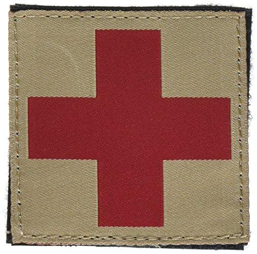 BLACKHAWK! Red Cross ID Patch - Coyote Tan by BLACKHAWK!