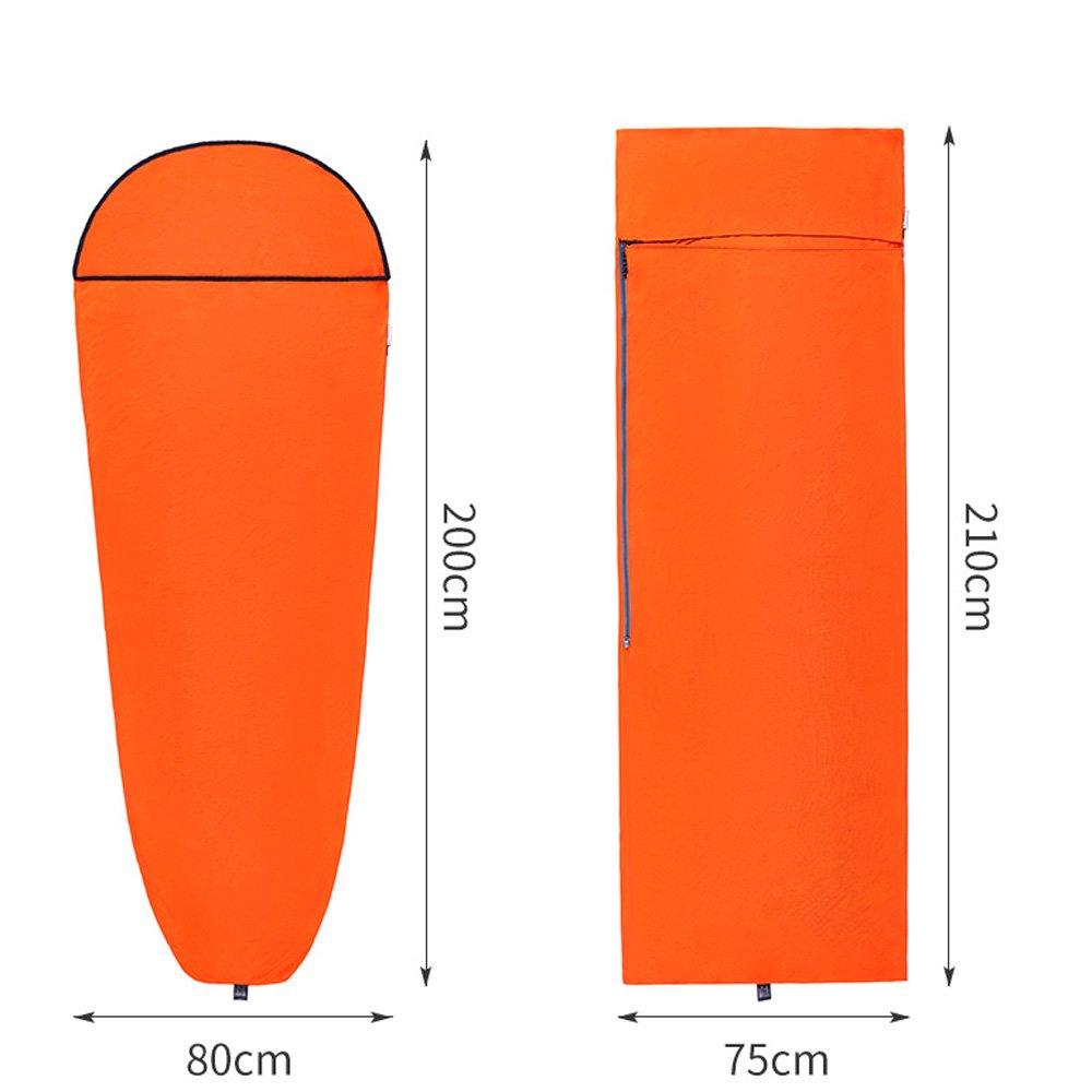 Tentock Thermolite Heat Single Sleeping Bag Liner Envelope//Mummy Sleeping Sack Portable Adult 3 Season Travel Sheet for Camping Hiking Backpacking Road-Trip