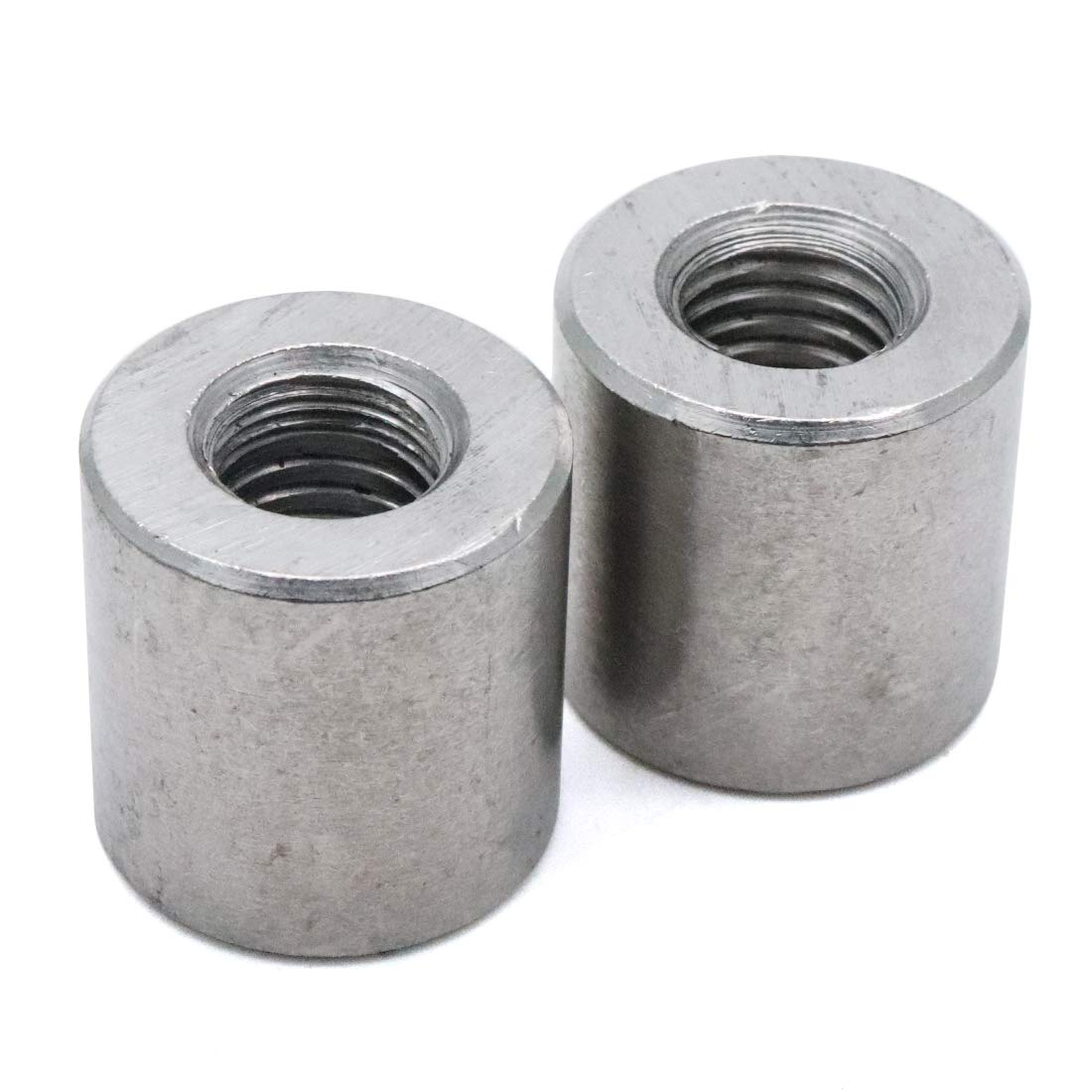 Yootop M5 Thread Round Coupling Nut Sleeve Stud Nut 10mm Height 12-Pack