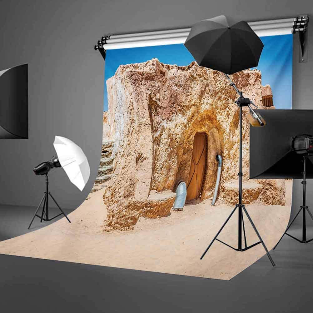 Galaxy 10x15 FT Backdrop Photographers,One of Abandoned Sets of Movie in Tunisia Desert Phantom Menace Galaxy Themed Image Background for Baby Birthday Party Wedding Vinyl Studio Props Photography