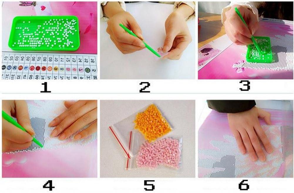 5D Diamant Broderie Tigre en repos R/ésine Point de Croix Peinture Kits DIY Needlework D/écoration Salon Chambre