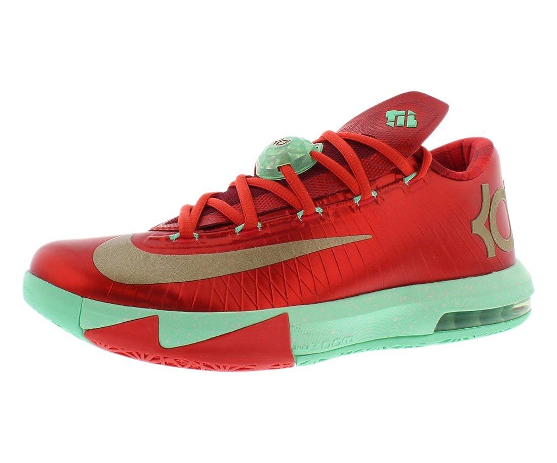 Christmas Shoes Nike.Nike Mens Kd Vi Christmas Synthetic Basketball Shoes