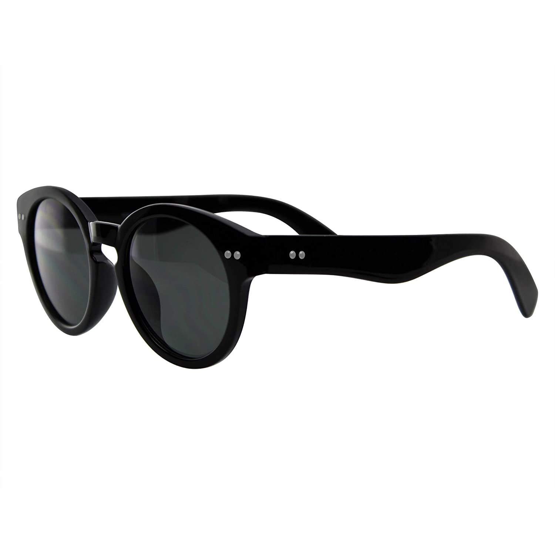 Amazon.com: Emblema Eyewear – Gafas de sol redondas estilo ...
