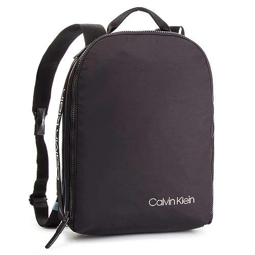f45d125826a33 Calvin Klein Clash Round Backpack, Men s Black, 15x30x42 cm (B x H T ...