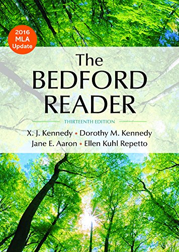 Bedford Reader 2016 Mla Update