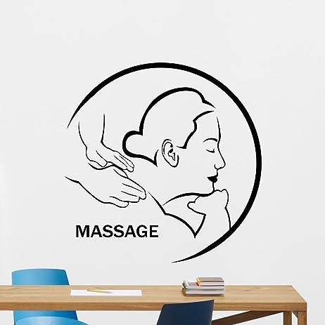 Massage Wall Decal Beauty Salon Nail Salon Spa Salon Wall Sticker ...