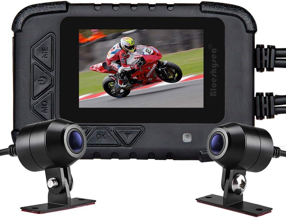 Blueskysea Motorcycle Dash Cam