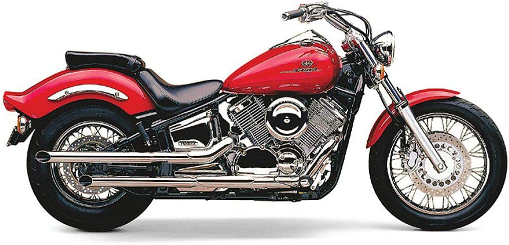 Cobra Drag Pipe Slip-On Exhaust for 00-03 Yamaha XVS1100A