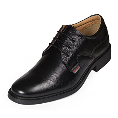 8c7cb6dd5 Red Chief Men s Black Leather Formal Shoes (RC2282) UK 6  Buy Online at Low  Prices in India - Amazon.in