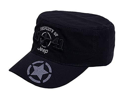 Jeep 1941 Men s Adjustable Military Fitted Cap 4a3bf0d45a9