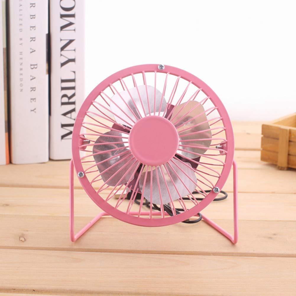 jujingyi officeproductsUSB Mini Portable Fan for Office Table//Computer Desk Cooler 4 Colors Low Noise Electric Fan