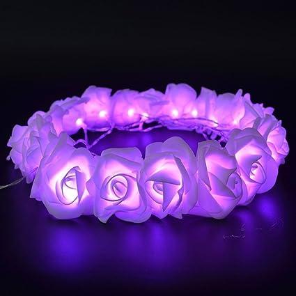 Amazon.com: Fantasee – Cadena de luces LED con diseño de ...
