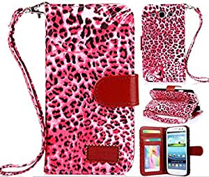 Samsung S3 Cases, Samsung s3 covers, Galaxy S3 cases, Galaxy s3 cases,Leopard Wallet PU Leather Case for Samsung Galaxy S3 i9300