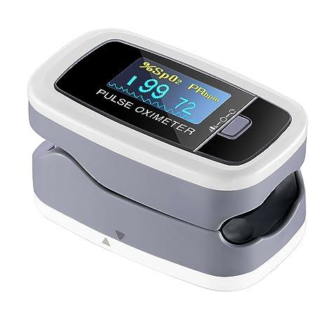 Oxímetro electrónica instantánea Digital de lectura instantánea lismile Sensor de Oxígeno y monitor de ritmo cardiaco