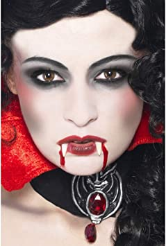 NET TOYS Set de Maquillaje 4 Partes Disfraz de Vampiro | Blanco ...