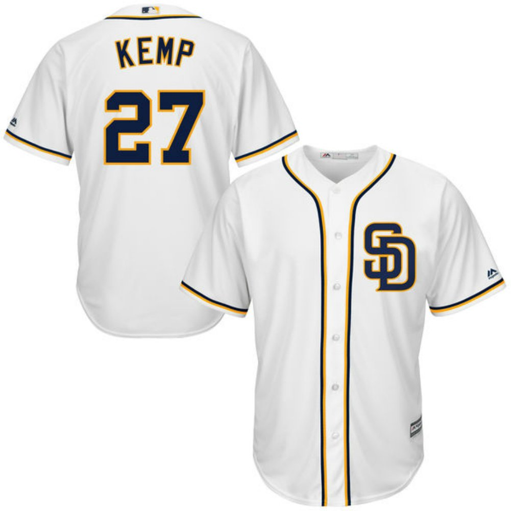 save off 9d136 97a02 Amazon.com: San Diego Padres Youth Matt Kemp MLB Cool Base ...
