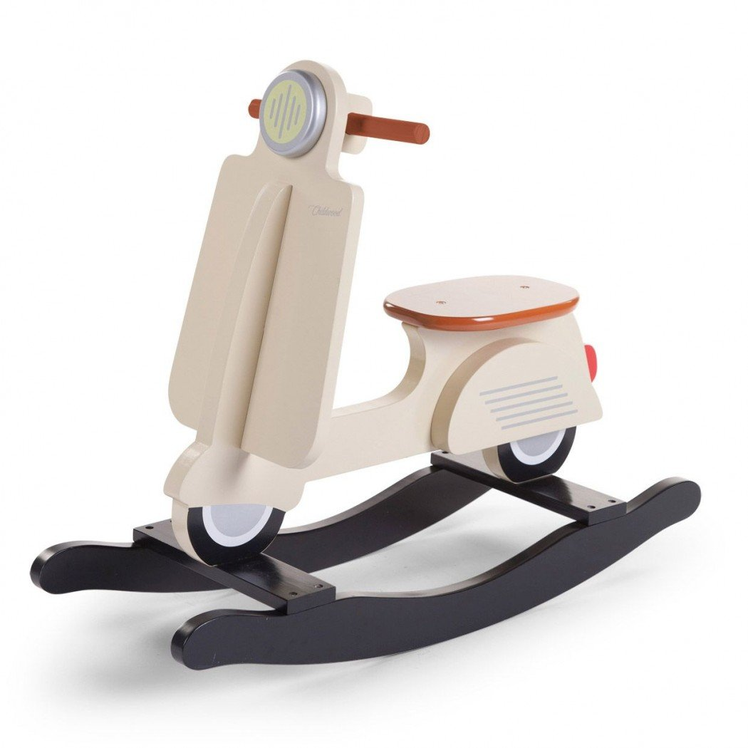 CHILDHOME Scooter à bascule bébé, cream Childwood