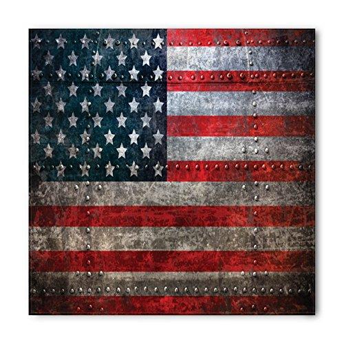 American Standard Flag - Ambesonne American Flag Bandana, US Flag Plate, Unisex Head and Neck Tie