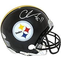 $166 » Chase Claypool Autographed/Signed Pittsburgh Steelers Mini Helmet BAS 28315 - Autographed College Mini Helmets