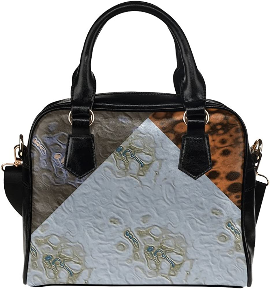 LEINTEREST Craters and Stars Women Top Handbag Shoulder Bag