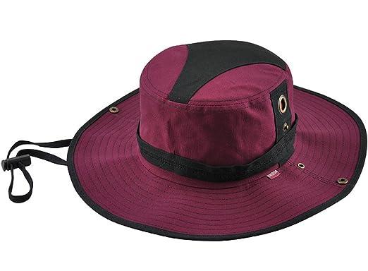KeepSa Mens Summer Bucket Hats Cotton Visor Fisherman Hat Outdoor Climbing  Sunshade Cap 749db2775cd6