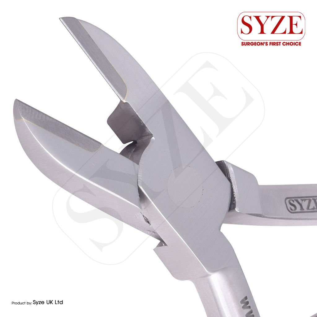 SYZE Orthodontic Heavy Duty Double Spring Wire Cutter TC Plier ...