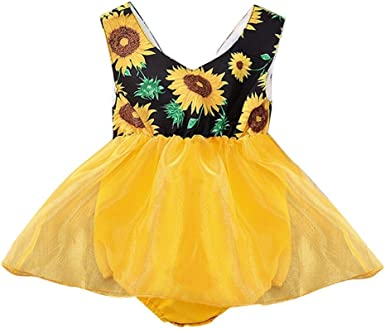 US Toddler Baby Girl Cute Sleeveless Dress Christmas Sunsuit Princess Outfits