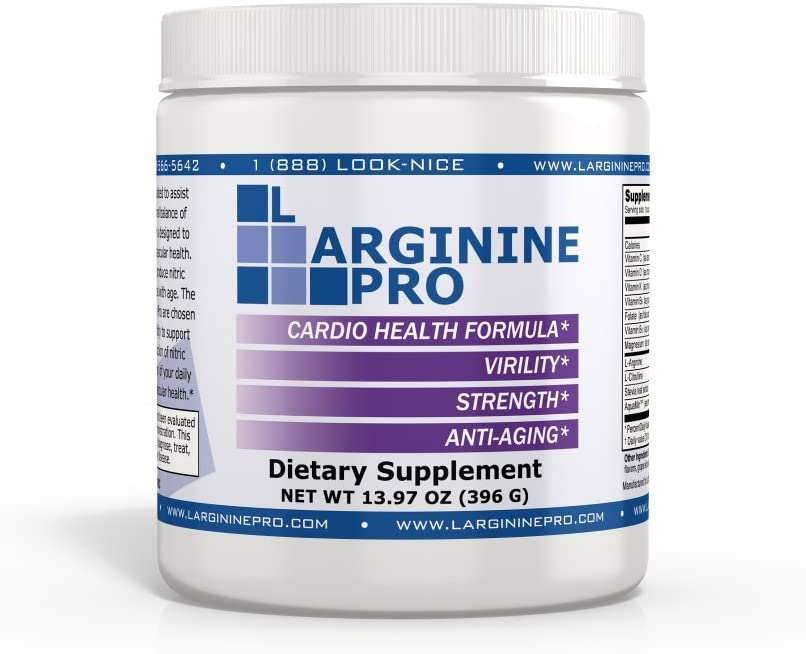 L-arginine Pro, 1 Now L-arginine Supplement – 5,500mg of L-arginine Plus 1,100mg L-Citrulline Vitamins Minerals for Cardio Health, Blood Pressure, Cholesterol, Energy Berry, 4 Jars