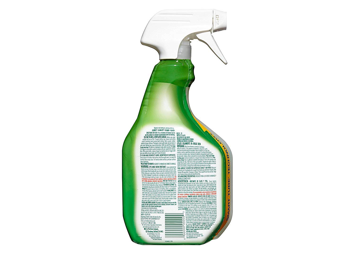 Clean-Up with Bleach, 32 fl oz Trigger Spray Bottle (Pack of 4) by Clorox (Image #4)