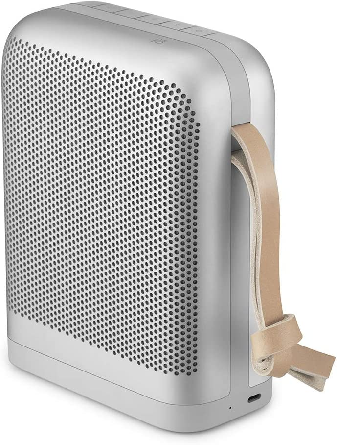 Bang Olufsen Beoplay P6 Portable Bluetooth Speaker with Microphone, Natural
