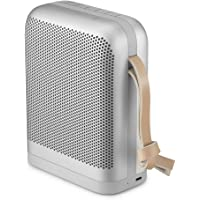 B&O Play Beoplay P6 Bluetooth Speaker, Powerful and Portable Wireless Splash and Dust Resistant Speaker, Natural