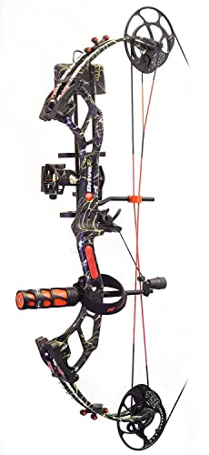 PSE Archery, Drive R Compound Bow, RTS Pro Package, Right Hand, Skullworks 2, 60#