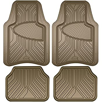 Amazon Com Armor All 78848 Tan Rubber Interior Floor Mat