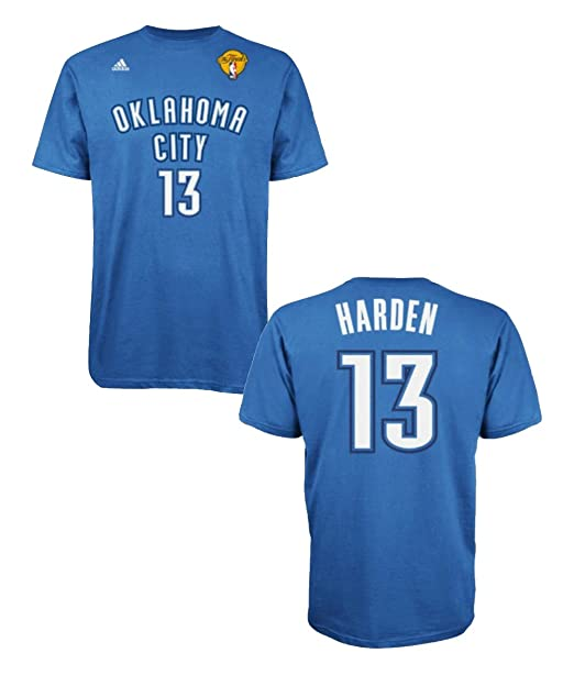 hot sale online ec7b8 b8a71 Amazon.com: adidas James Harden Oklahoma City Thunder 2012 ...