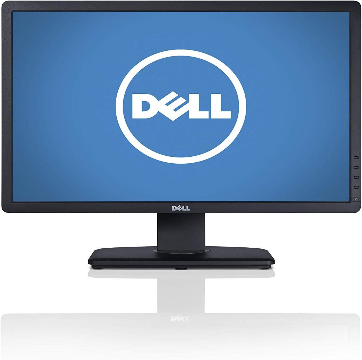 """2019 Dell UltraSharp U2412M LED Monitor - 24"""" FHD 1920 x 1200 - IPS - 300 cd/m² - 1000:1-8 ms - DVI-D VGA DisplayPort - Black"""
