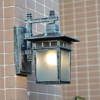 Inicio lámpara de pared exterior ático cocina café patio retro luces led a prueba de agua