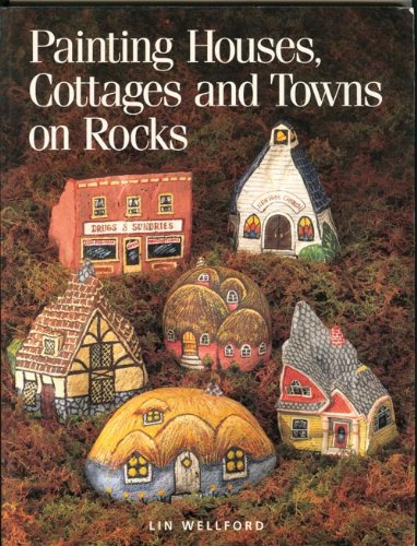 Painting Houses, Cottages and Towns on Rocks ()