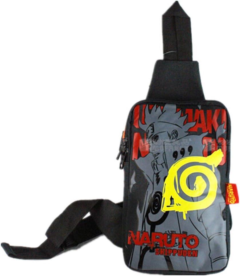 Anime Cartoon NARUTO Uzumaki Naruto Symbol Book Bag Backpack Schoolbag Satchel