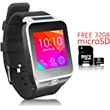 Indigi 2-in-1 Smartwatch Phone(Factory Unlocked) Mp3+Bluetooth+