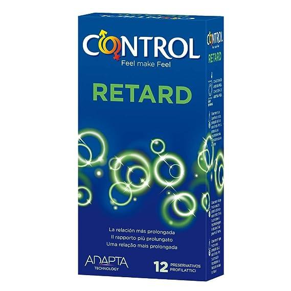 Control Retard Preservativos - 12 Unidades: Amazon.es: Salud y cuidado personal
